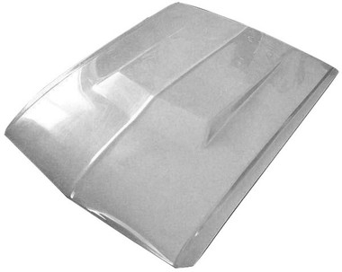 M-7001LRH 1967-1968 Ford Mustang Eleanor 2 1/2 Inch Fiberglass Low Rise Hood - Requires Eleanor Front End