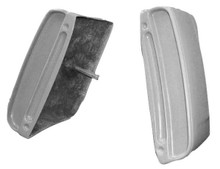 M-101 1967-1968 Ford Mustang California Special Non-Functional Fiberglass Side Scoops-PAIR-BOLT ON