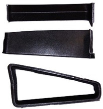 M-106 1966 Ford Mustang Shelby Style Fiberglass Quarter Window Extension Set