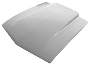 M-317 1969-1970 Ford Mustang 2 1/2 Inch Fiberglass Cowl Induction Hood