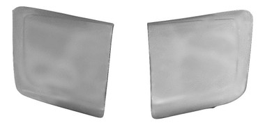 M-100 1964 1/2-1966 Ford Mustang Shelby Look Fiberglass Side Scoops-PAIR