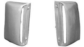 M-111 1968 Ford Mustang Shelby GT350/GT500 Functional Fiberglass  Lower Side Scoops-BOLT ON-PAIR