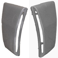 M-222 1969-1970 Ford Mustang Shelby Convertible Fiberglass Side Scoops-PAIR-BOLT ON
