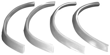 M-110-KIT 1964 1/2-1966 Ford Mustang Coupe and Fastback Fiberglass Front and Rear Fender Flares-PAIRS Must Use with M-110SS and M-110AP