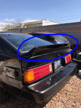DUCKTAIL SPOILER FOR 1982 1983 1984 1985 TOYOTA CELICA/SUPRA MA61 MK2 WING RA65