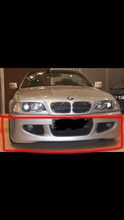 1999-2006 BMW E46 FRONT SPOILER MVR STYLE
