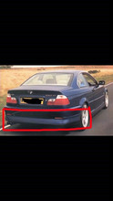 1999-2006 BMW E46 REAR SPOILER MVR STYLE