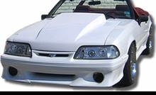 "1987-1993 Mustang 4"" rise cowl hood"