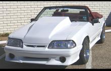 "1987-1993 Mustang 6.5"" LIFT OFF RACE Cowl hood"
