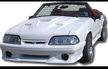 "1987-1993 Mustang Mach 3 hood 2.5"" rise"