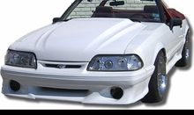 """1987-1993 Mustang cobra R style 2.5"""" Cowl hood"""