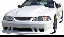 "1994-1998 Mustang cobra R style cowl hood 2"" rise"