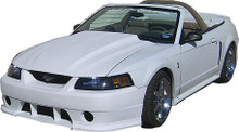 "1999-2004 Mustang Cobra R style cowl hood 2.5"" rise"