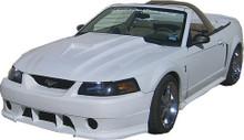 "1999-2004 Mustang SVO style hood 2.5"" rise"