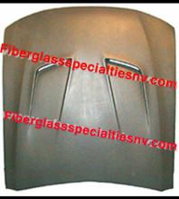 1999-2004 Mustang SLN hood heat extractor