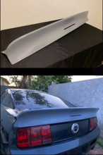 2005-2009 Mustang ducktail spoiler BOLT ON