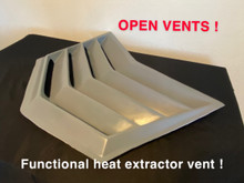 universal heat extractor hood vent functional