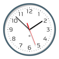 Peter Pepper Clock - Model 820 Clock with Flush Acrylic Cover - Face No. 39