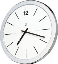 "14"" Round Wall Clock without Acrylic Cover - Peter Pepper Model 843 - Analog"