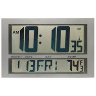 Model WC300 - Digital Wall Clock - 2.4 GHz Wireless