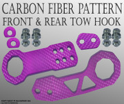 ABL 1SET CNC Kit Front and Rear High Strength TOW HOOK PURPLE PV4 A218