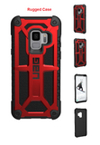 Galaxy S9 For Urban Armor Gear UAG Monarch Case Red/Black