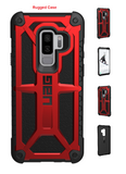 Galaxy S9 + Plus For Urban Armor Gear UAG Monarch Secure Case Red/Black
