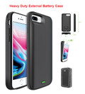 IPhone 7 Plus For External Battery Power 8000mAh Rechargeable Case