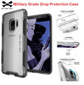 Ghostek Galaxy S9  Shockproof 2X Military  Drop Protection Case Cloak 3| Black