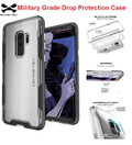 Ghostek Galaxy S9+ Plus  Shockproof 2X Military  Drop Protection Case Cloak 3| Black