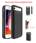 IPhone 8/7/6 For External Battery Power 5500mAh Rechargeable Case