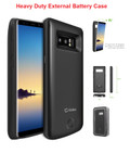 Galaxy Note 8 For External Battery Power 6500mAh Rechargeable Case
