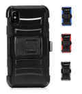 IPhone X For Holster Combo Dual Layered Armor And Secure Clip