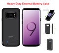 Galaxy S9  For External Battery Power 5000mAh Rechargeable Case