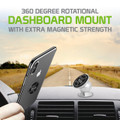 Dashboard Extra Strength Magnetic, Car And Trucker Mount- Cellphone Holder For Galaxy  S9