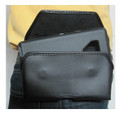 Leather Sideways Rugged Holster Pouch Fits Pixel XL 3 Otterbox Defender  -Turtleback