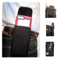 IPhone 8 Plus For Rugged Vertical Nylon Holster Pouch, Metal Belt Clip- Turtleback  Picture 1