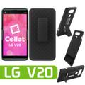 LG V20 For Cellet Holster Combo Shell Combo Secure Belt Clip