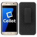 Holster Case Combo Cellet Premium  Shell Kickstand Combo w/ Belt Clip Fits Samsung Galaxy s7 Cellphone