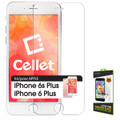 Tempered Glass Cellet Premium  (0.3mm) Screen Protector for Apple iPhone 6 Plus 5.5 inch Cellphone
