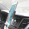 Tablet CD Slot Mount Black  -Cellet Universal  for LG G Pad 8.0  Device