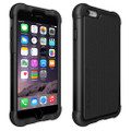 Ballistic Series Original Black Tough Jacket Heavy Duty Cover Case for Sprint At&t/ Verizon /T-mobile / U.S. Cellular/ Boost Mobile Apple Iphone 6 4.7in. Cellphone
