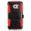 Holster Hybrid Combo Armor With Swivel Kick Stand  Red/Black Cover Case For Samsung Galaxy S7 Active/G891 Cellphone