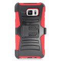 Holster Hybrid Combo Armor With Swivel Kick Stand  Red/Black Cover Case For Samsung Galaxy Note 5 (AT&T/Verizon/Sprint) Cellphone