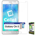 Tempered Glass [Cellet] Premium  (0.3mm) Screen Protector Guard For Samsung  Galaxy On 5 Cellphone