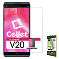 Tempered Glass [Cellet] Premium  (0.3mm) Screen Protector Guard For Verizon LG V20 Cellphone