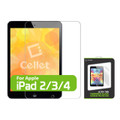 Tempered Glass [Cellet] Premium Screen Protector Guard [0.8mm]Ultra Thin Design For Apple IPad  iPad 2/3/4  Tab/ Tablet