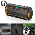 Bluetooth Wireless Stereo Enhanced Bass Speaker Shockproof/ Rugged / Heavy Duty / Dustproof and Waterproof IP65  For Bluetooth  Devices