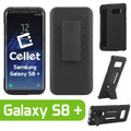 Galaxy S8 Plus For Cellet Shell Holster Combo Secure Clip