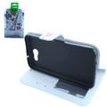 Wallet Fold PU Leather Pouch [Heart Tower]  For Samsung Galaxy J7 Perx/ J7 Prime/ Halo/ J7 Sky Pro/ J7 V/ J7 (2017) J727  Cellphone